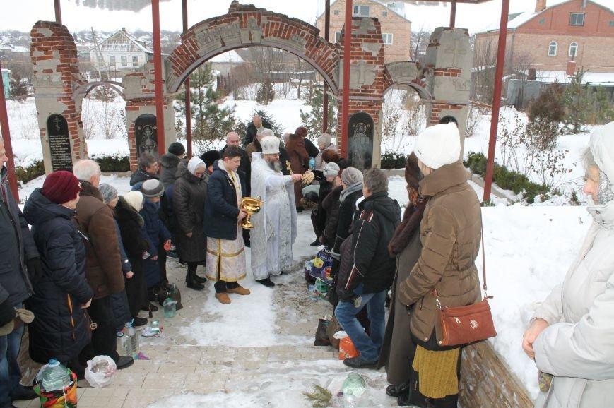 Православные бахмутчане отмечают праздник Крещения Господня, фото-8