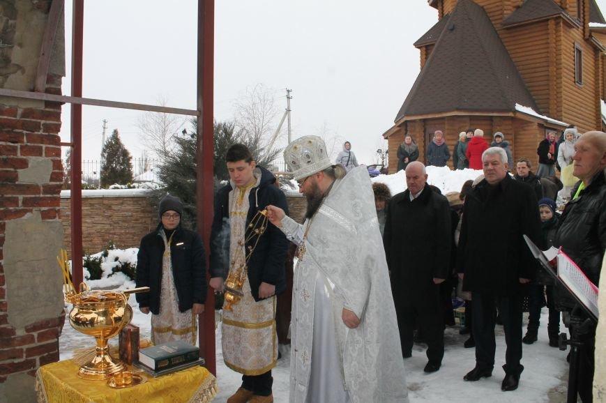 Православные бахмутчане отмечают праздник Крещения Господня, фото-5