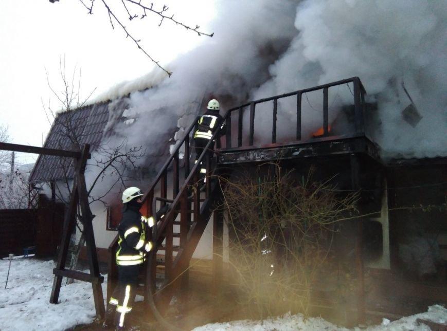 На Броварщині в селі Пухівка знов сталася пожежа, фото-1