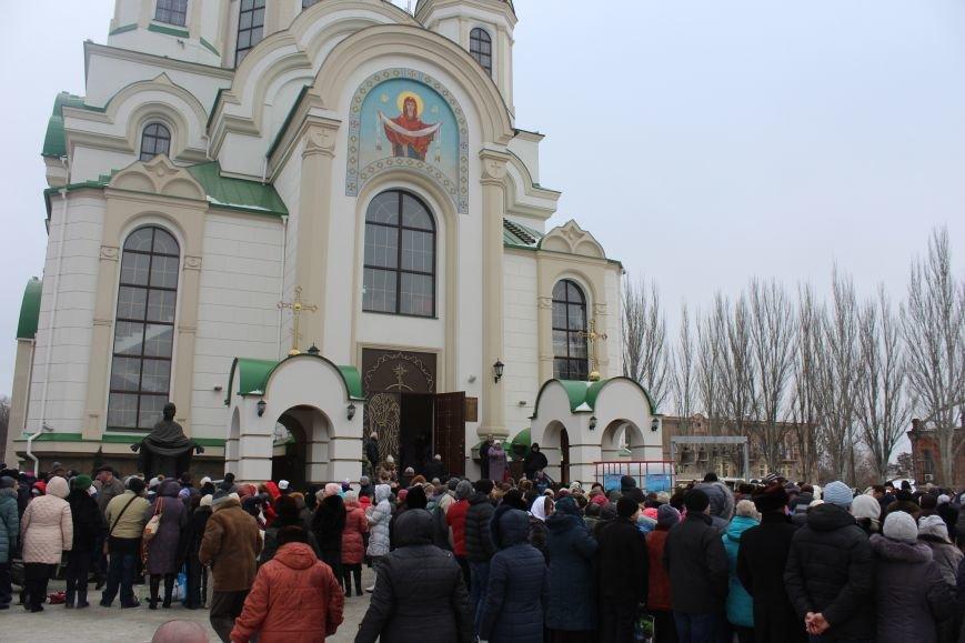 В запорожских церквях массово святят воду, - ФОТОРЕПОРТАЖ, фото-8
