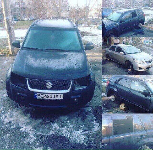 Эпидемия: В Одессе на Котовского массово обворовали машины (ФОТО), фото-1