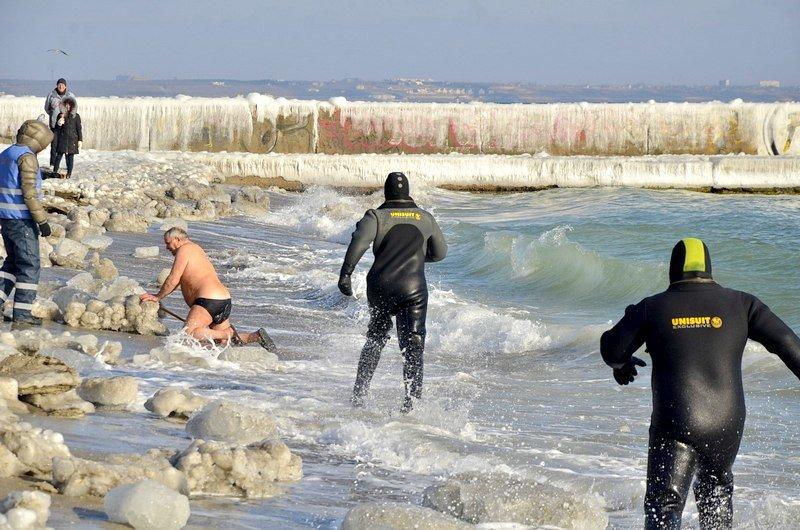 В Одессе крещенские моржи установили Национальный рекорд (ФОТО), фото-2