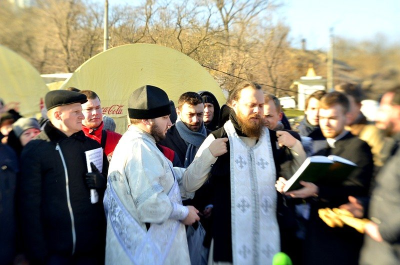 В Одессе православный священник благословил Темного Лорда (ВИДЕО, ФОТО), фото-13