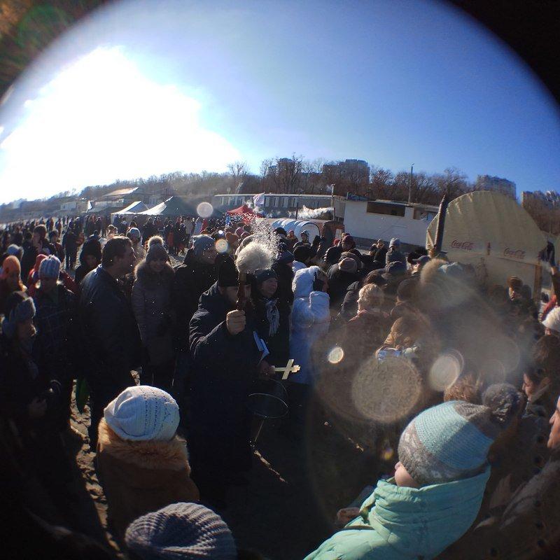 В Одессе православный священник благословил Темного Лорда (ВИДЕО, ФОТО), фото-17