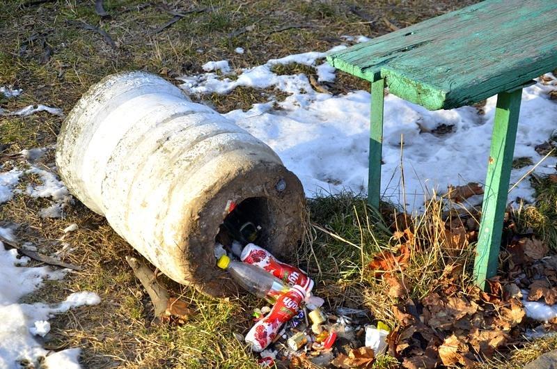 Коммунальщики не расчистили аллеи одесского парка (ФОТО), фото-6