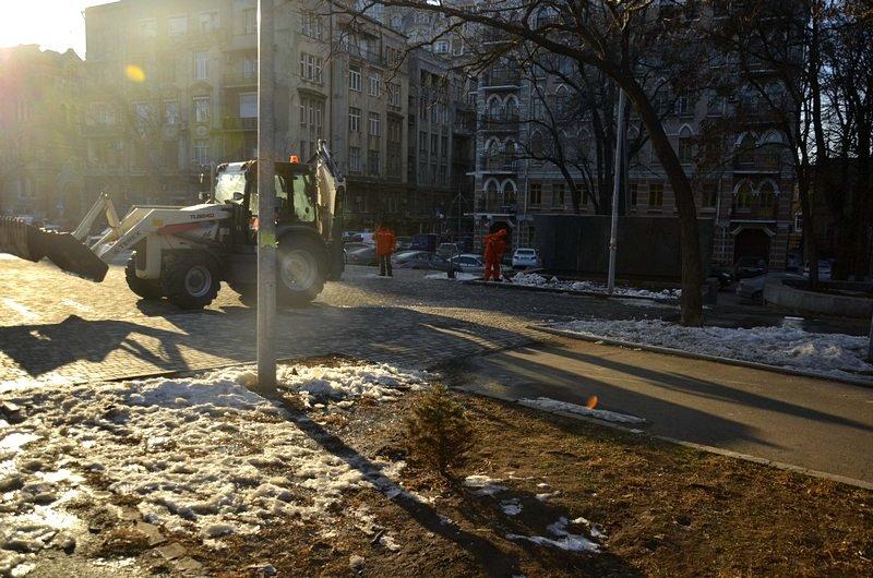 Коммунальщики не расчистили аллеи одесского парка (ФОТО), фото-8