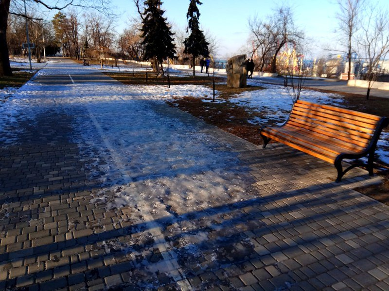 Коммунальщики не расчистили аллеи одесского парка (ФОТО), фото-19