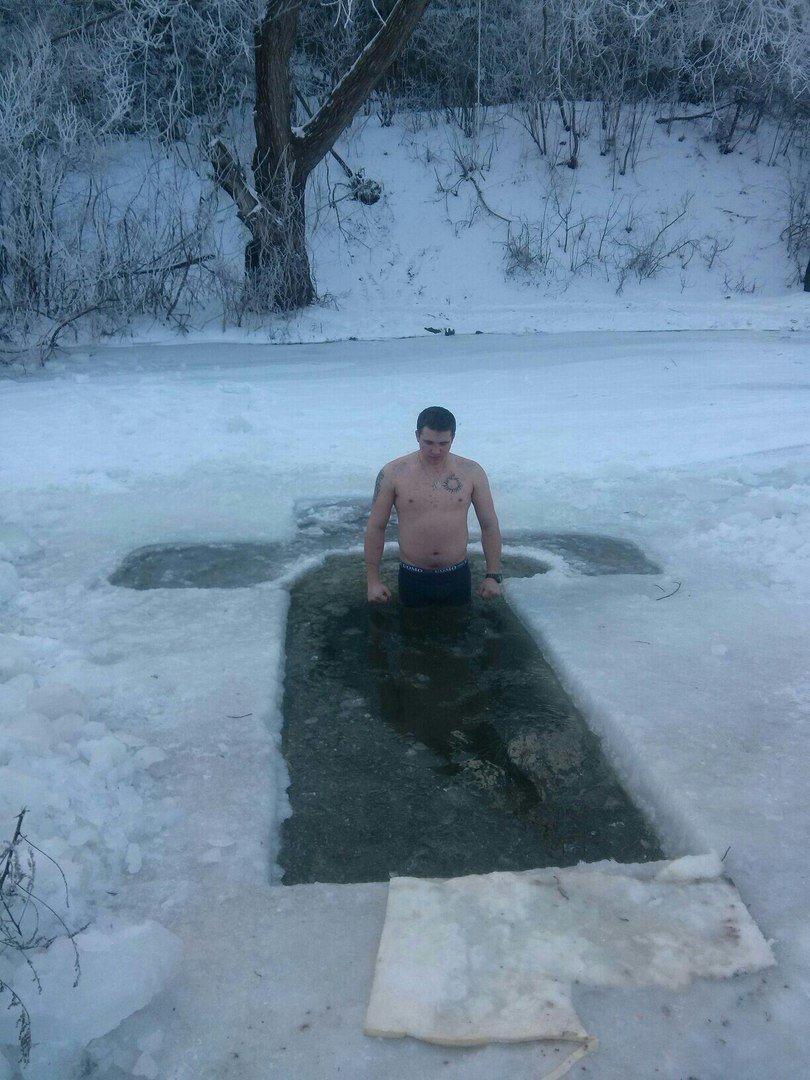 Як кам'янчани на Водохреща купались, фото-4