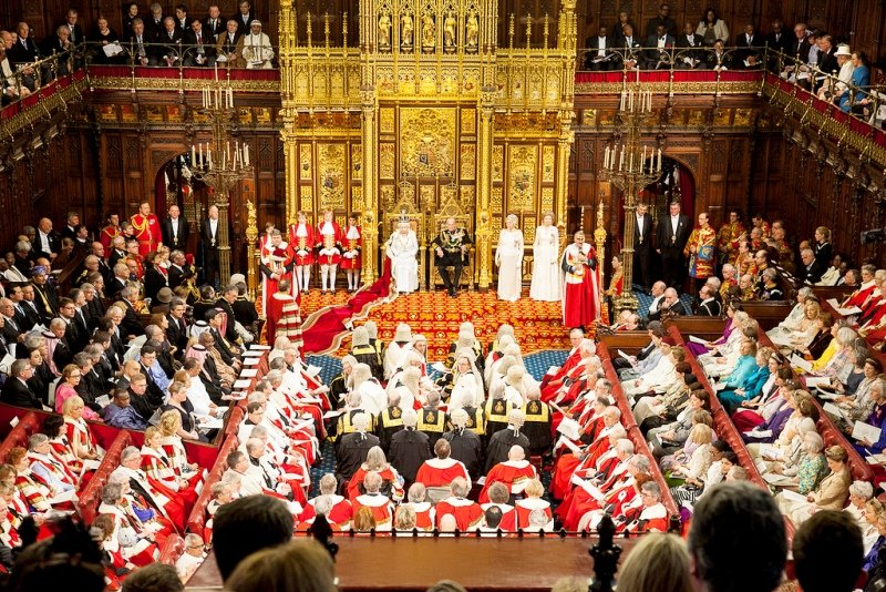 Queens-SPeech-2012-House-of-Lords-Parliament