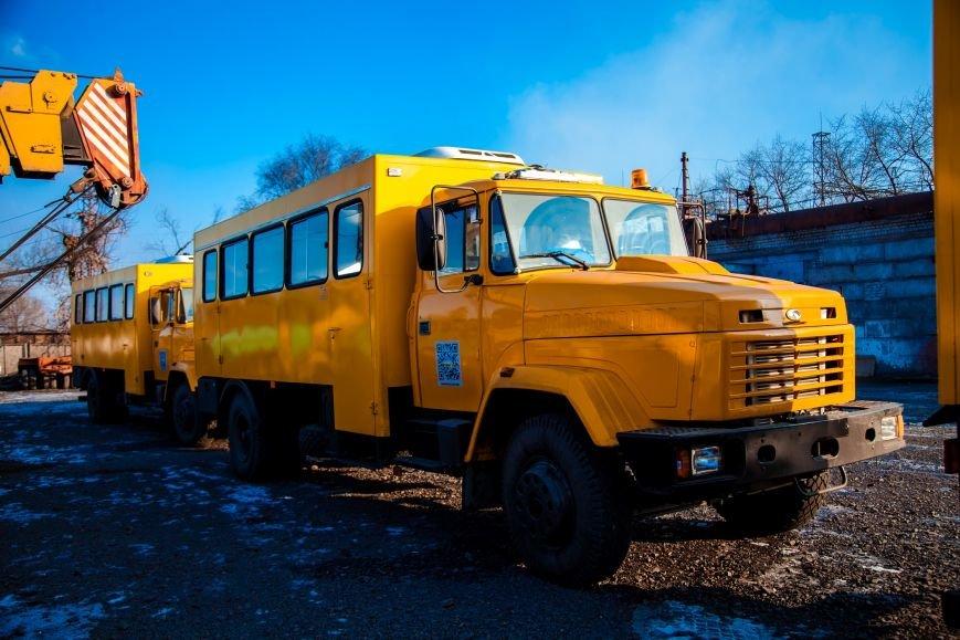 ЮГОК обновил свой автопарк отечественными автобусами, фото-1