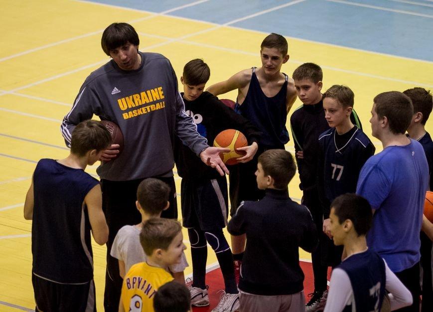 Тренер сборной Украины провел мастер-класс для запорожских детей, фото-3