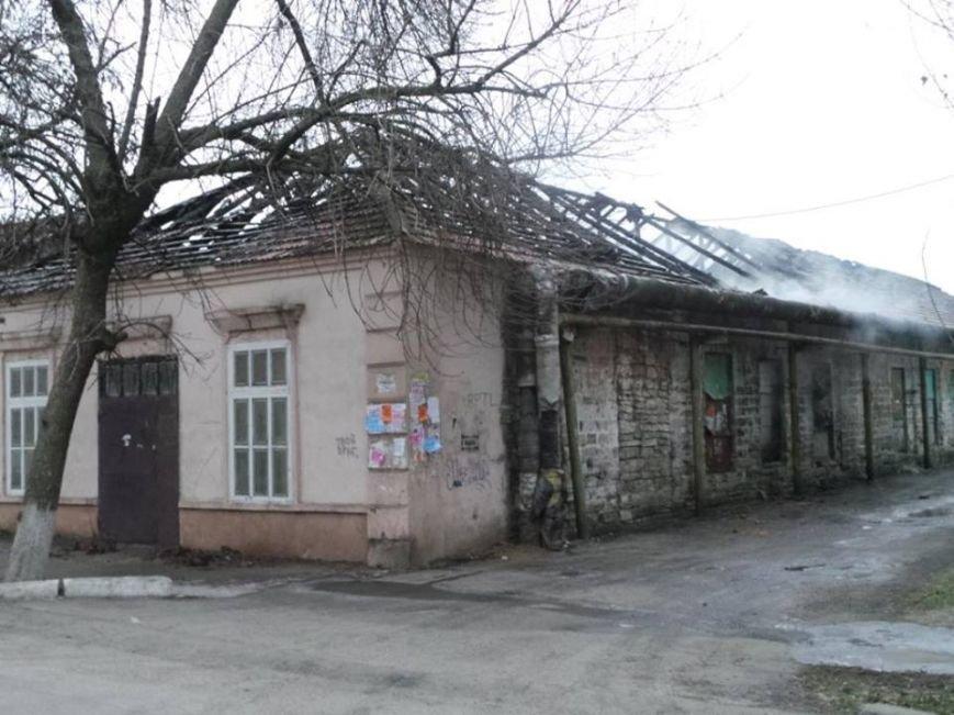 В Бердянске горело складское помещение, фото-1