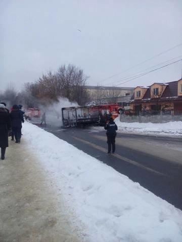 Возгорание маршрутки в Сумах произошло по вине водителя (ФОТО), фото-1