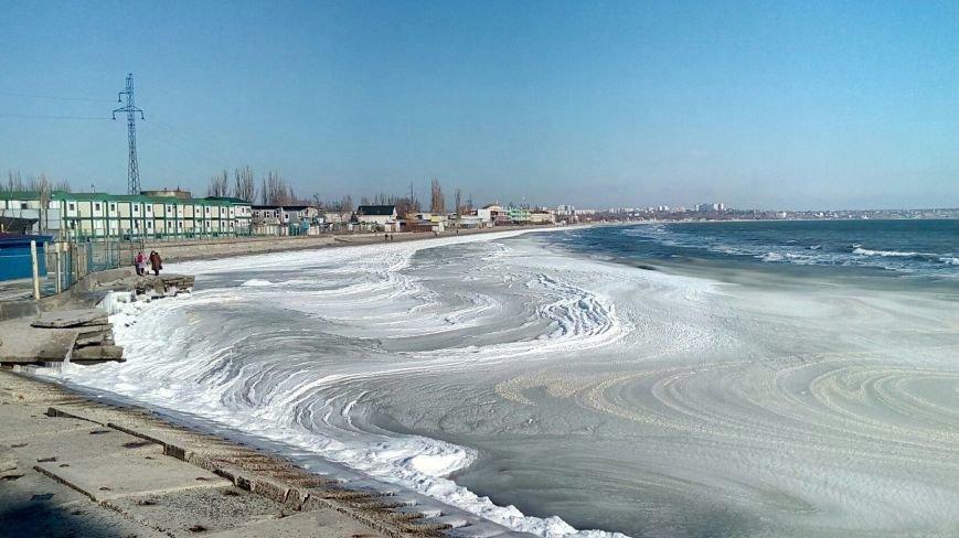 Море в Одессе стало похоже на кипящее молоко (ФОТО), фото-8