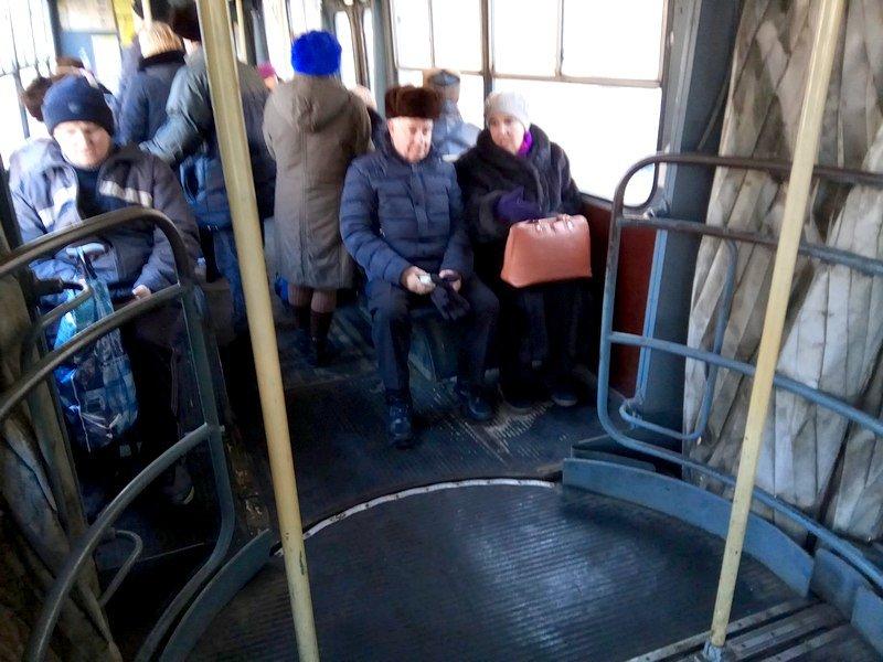 Эксперимент: Как одесситов вымораживают в электротранспорте? (ФОТО), фото-7