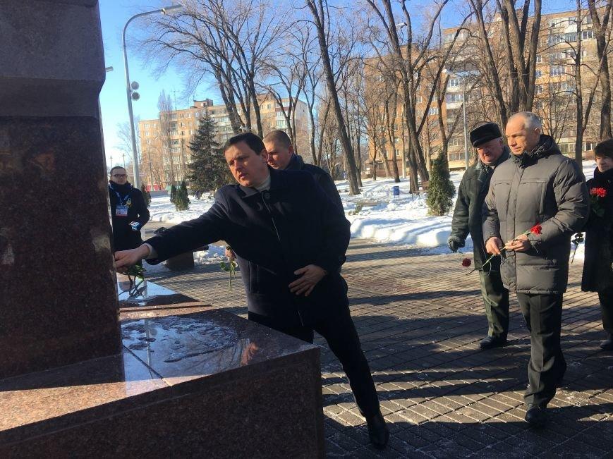 В Кривом Роге чиновники отметили День Соборности Украины (ФОТО), фото-21