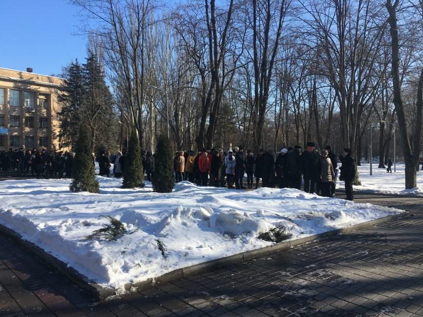 В Кривом Роге чиновники отметили День Соборности Украины (ФОТО), фото-5