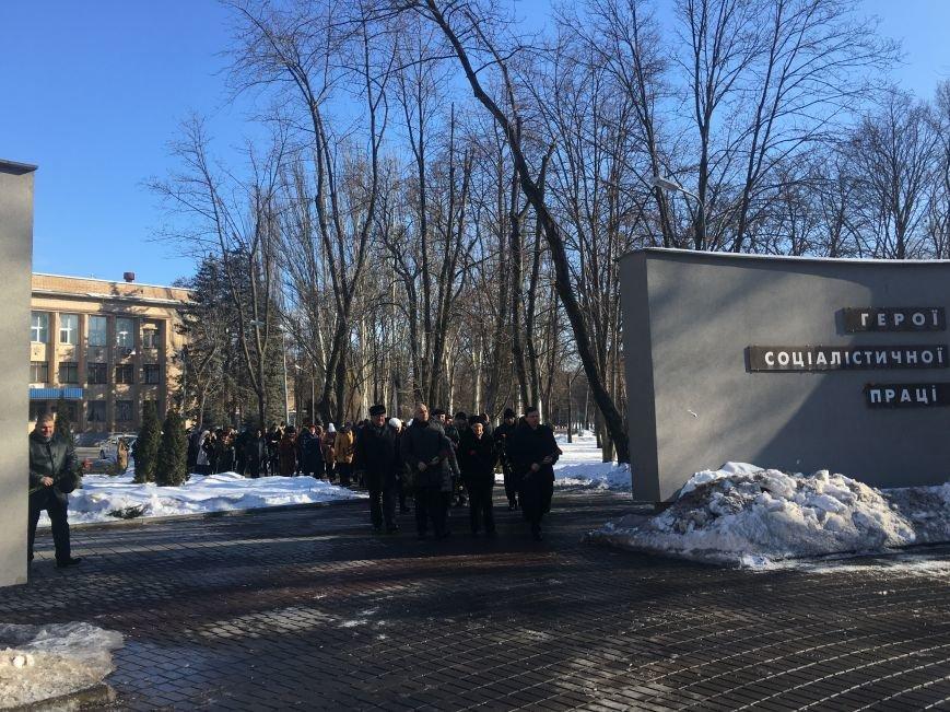В Кривом Роге чиновники отметили День Соборности Украины (ФОТО), фото-7