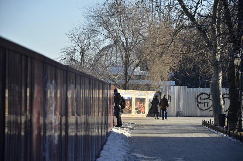 С Приморского бульвара снова видно одесский порт (ФОТО), фото-8