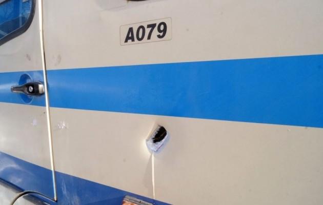 Штаб АТО обвинил боевиков в обстреле автобуса  Донецк-Докучаевск (ФОТО), фото-1