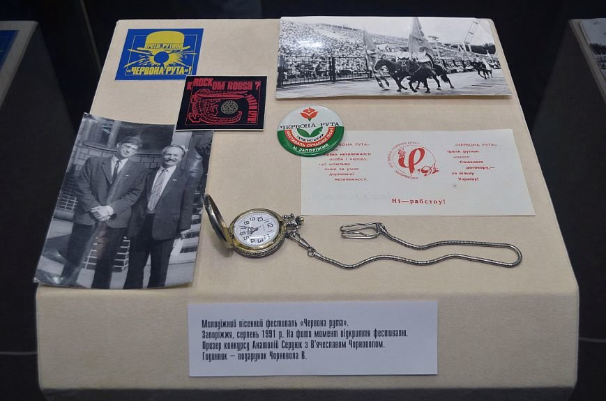 В Запорожском музее открылась выставка о борьбе украинцев за Независимость, - ФОТОРЕПОРТАЖ, фото-12