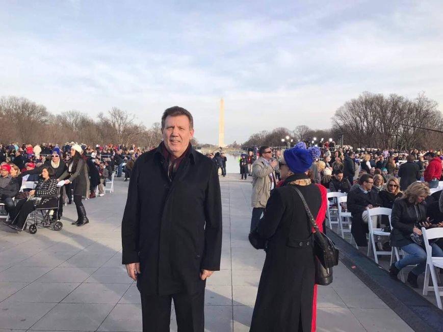 Одесский нардеп посетил инаугурацию Дональда Трампа, фото-2