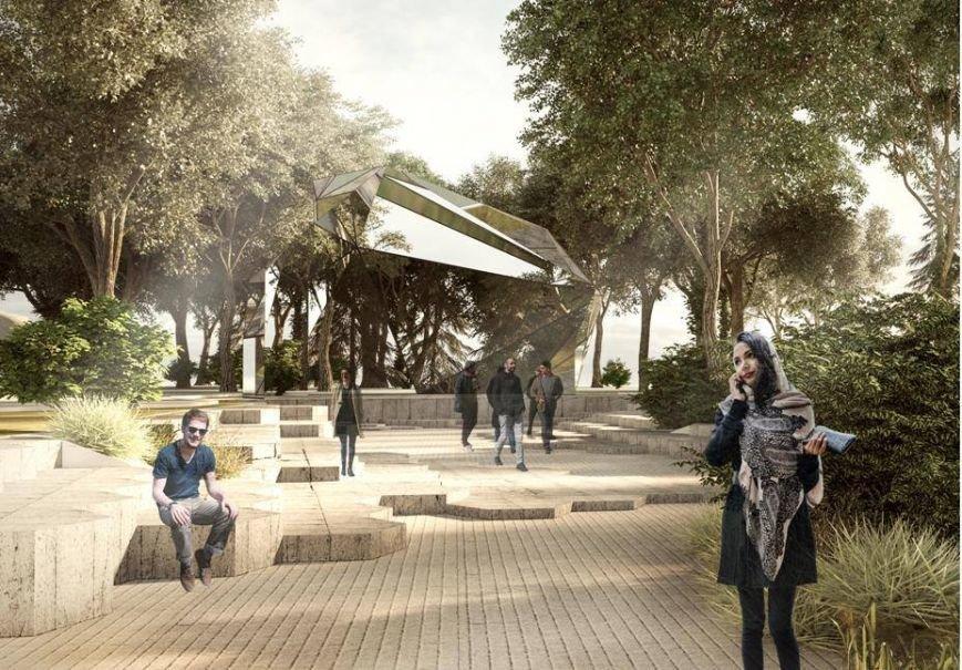 Одесситам представили обновленный проект Греческого парка, фото-1