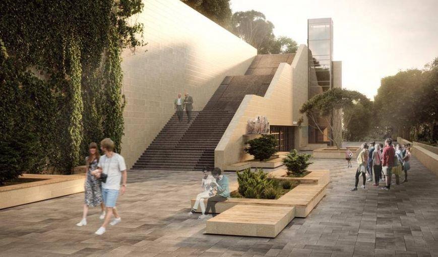 Одесситам представили обновленный проект Греческого парка, фото-2