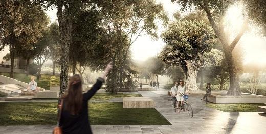 Одесситам представили обновленный проект Греческого парка, фото-4