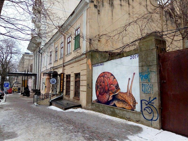 В Одессе появился новый мурал (ФОТО), фото-1