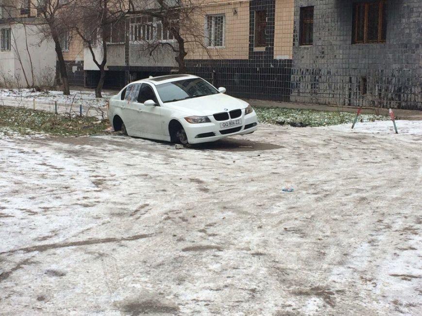 На одесском поселке Котовского разули BMW, фото-2