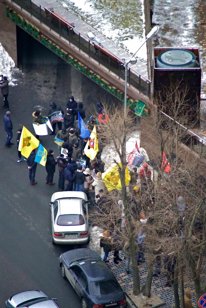 В Одессе возле консульства РФ собрались патриоты (ВИДЕО, ФОТО), фото-3