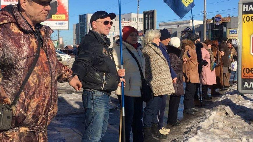 """Соединившись в """"Ланцюг єднання"""", криворожане исполнили Гимн Украины (ФОТО), фото-15"""