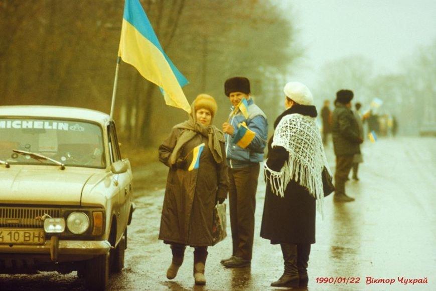 Ланцюг Злуки у 1990: як це було (ФОТО), фото-6