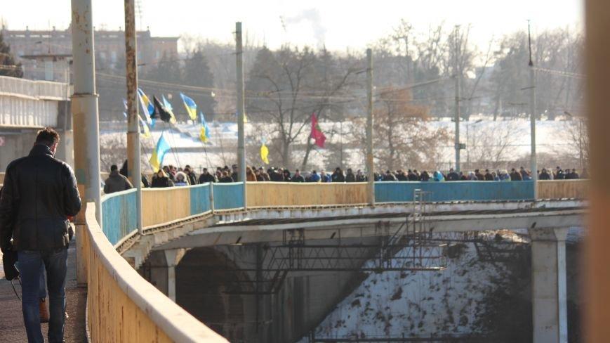 Запорожцы соединили два берега Днепра живой цепью в честь Дня Соборности,- ФОТОРЕПОРТАЖ, фото-6