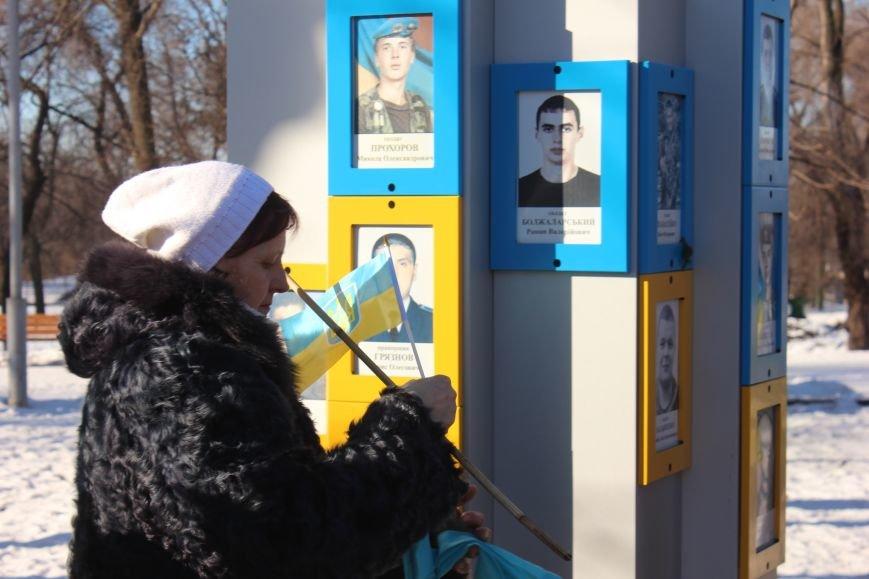 В День соборности запорожцы почтили память воинов АТО, - ФОТОРЕПОРТАЖ, фото-4