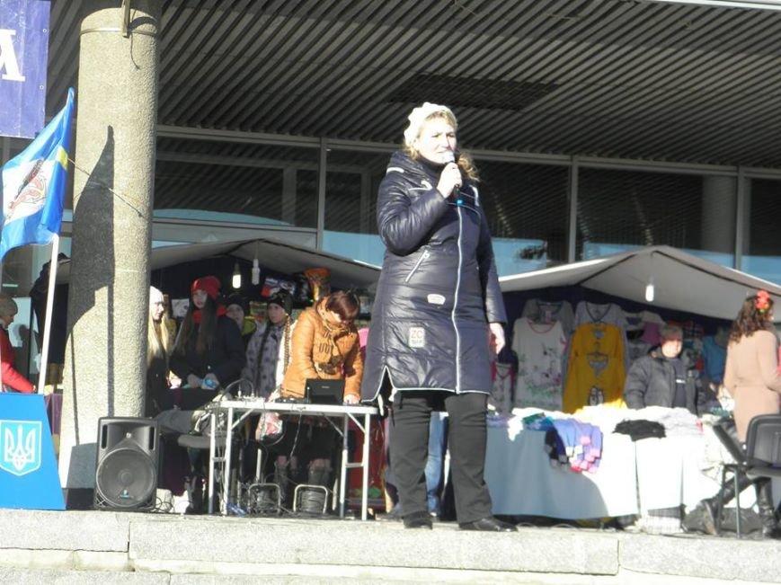 В Бердянске общественность отметила День соборности, фото-3