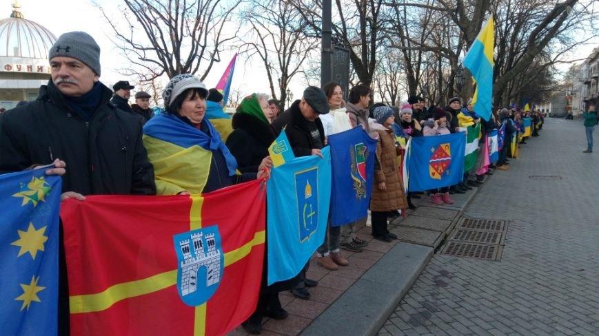 Трогательно: Одесситы показали настоящую Соборность Украины (ФОТО), фото-7
