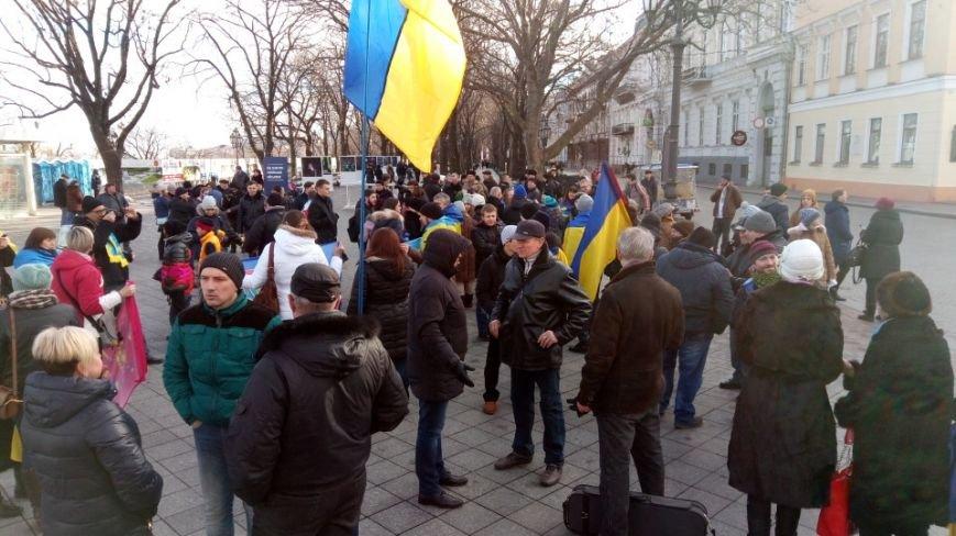 Трогательно: Одесситы показали настоящую Соборность Украины (ФОТО), фото-1