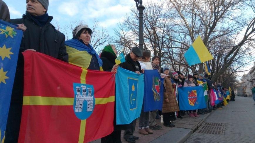 Трогательно: Одесситы показали настоящую Соборность Украины (ФОТО), фото-3
