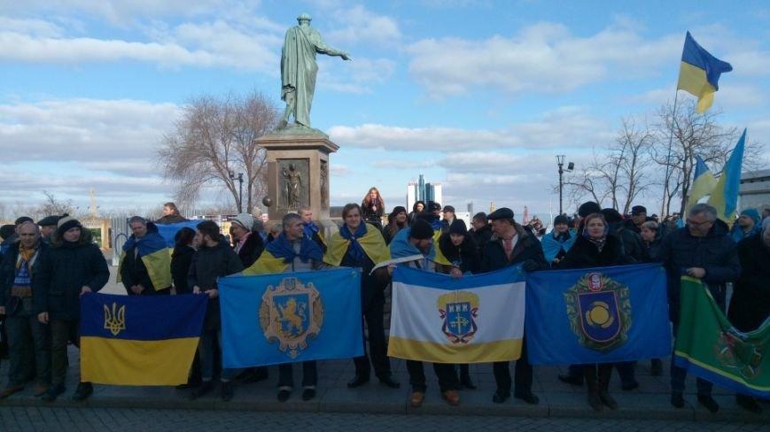 Трогательно: Одесситы показали настоящую Соборность Украины (ФОТО), фото-5