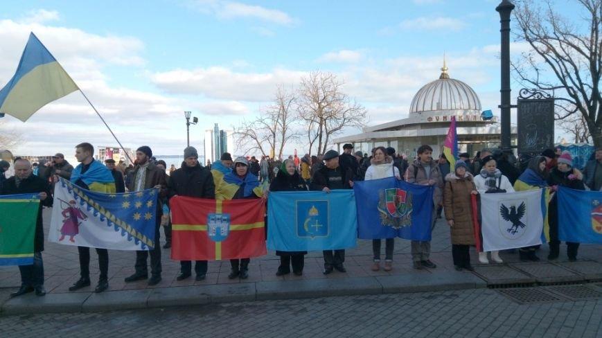 Трогательно: Одесситы показали настоящую Соборность Украины (ФОТО), фото-6