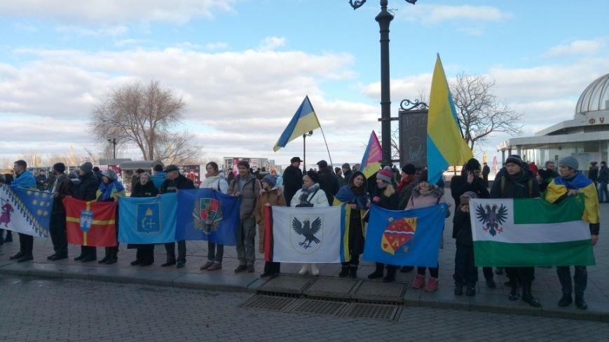 Трогательно: Одесситы показали настоящую Соборность Украины (ФОТО), фото-2