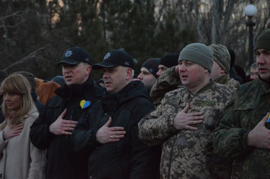 В Мариуполе отметили День Соборности Украины (ФОТО+ВИДЕО), фото-14