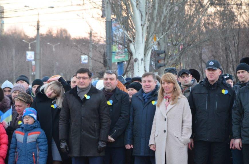 В Мариуполе отметили День Соборности Украины (ФОТО+ВИДЕО), фото-10