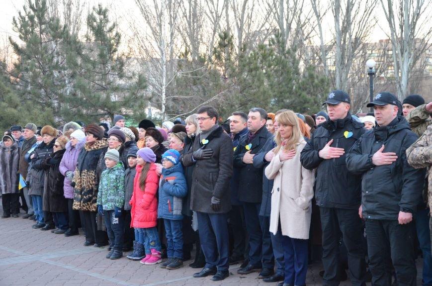 В Мариуполе отметили День Соборности Украины (ФОТО+ВИДЕО), фото-11