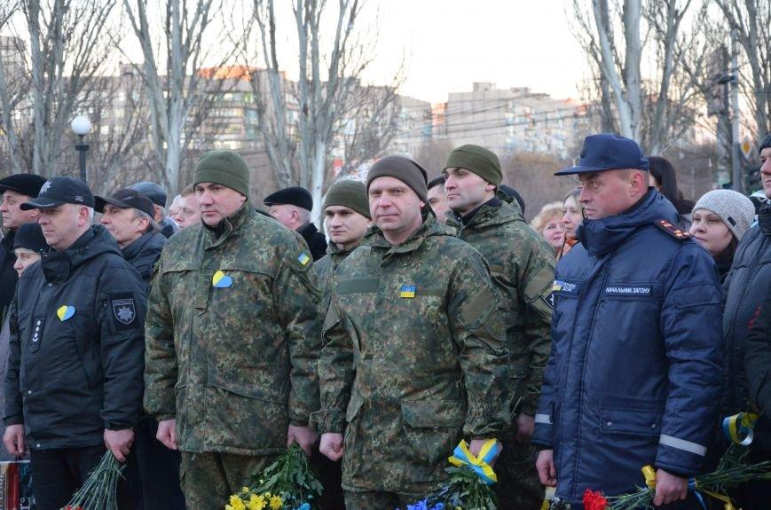 В Мариуполе отметили День Соборности Украины (ФОТО+ВИДЕО), фото-1