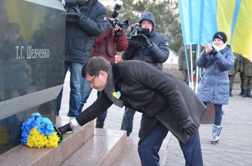 В Мариуполе отметили День Соборности Украины (ФОТО+ВИДЕО), фото-3