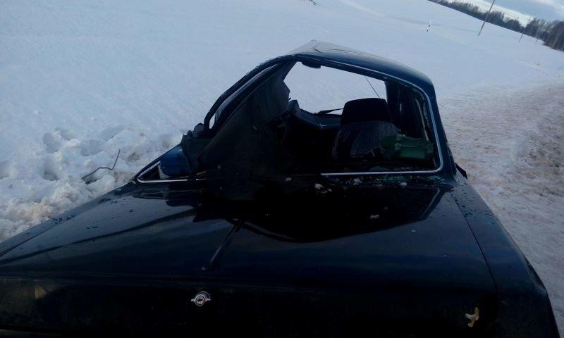 На трассе Витебск – Полоцк произошло ДТП. Фура «сложилась в ножницы», водитель легковушки погиб. ФОТО, фото-3