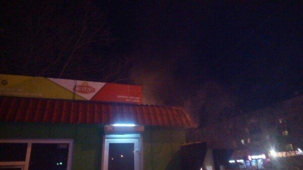 В Одессе сгорел киоск с пельменями (ФОТО), фото-3